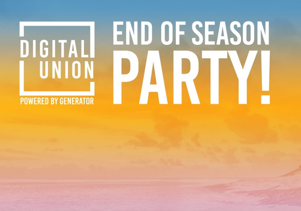 Digital Union's End Of Season Party 2018