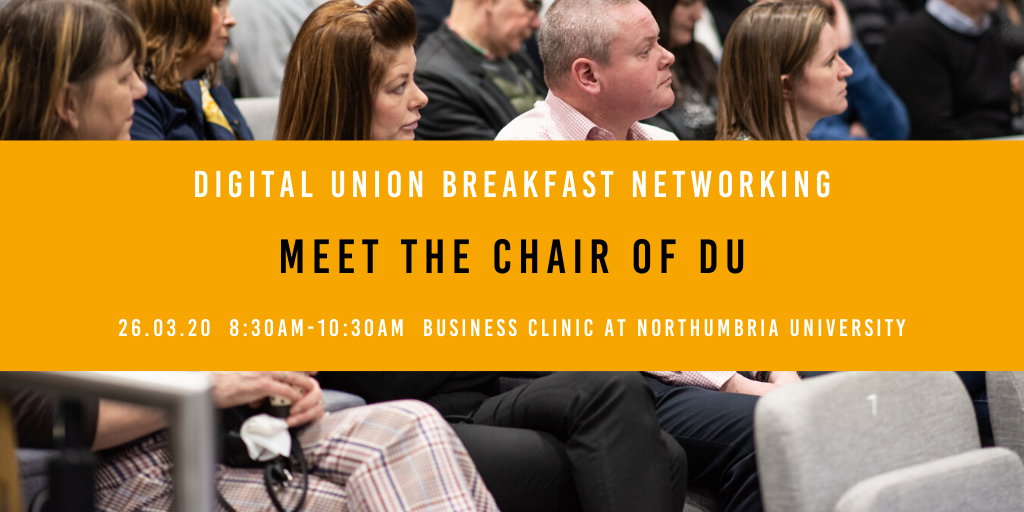 POSTPONED – Breakfast Networking: Meet the Chair
