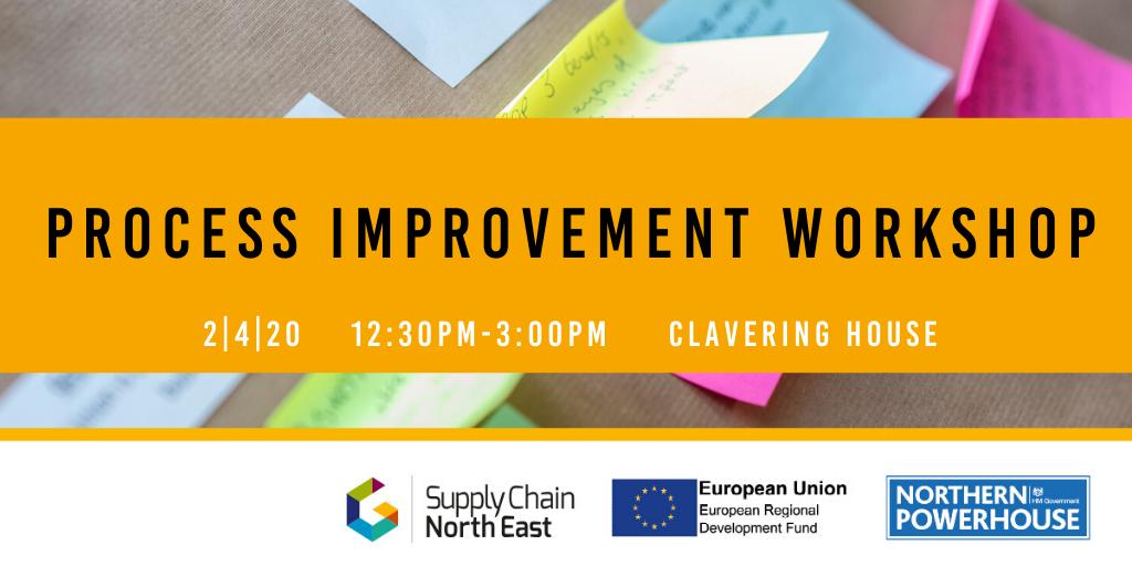 POSTPONED – Process Improvement Workshop