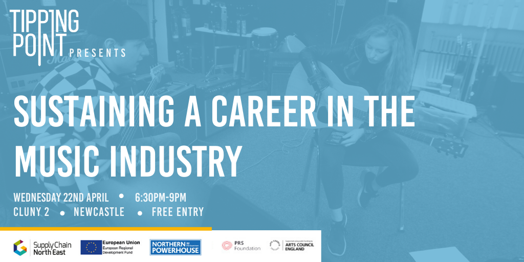 POSTPONED – Sustaining a Career in the Music Industry