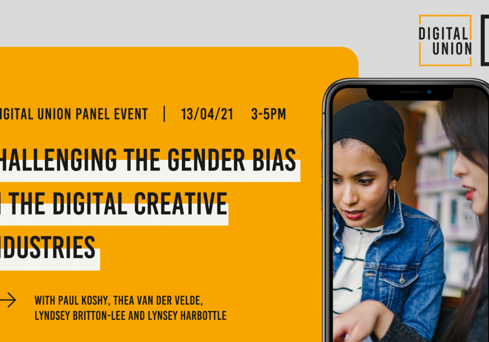 Challenging Gender Bias in the Digital Creative Industries