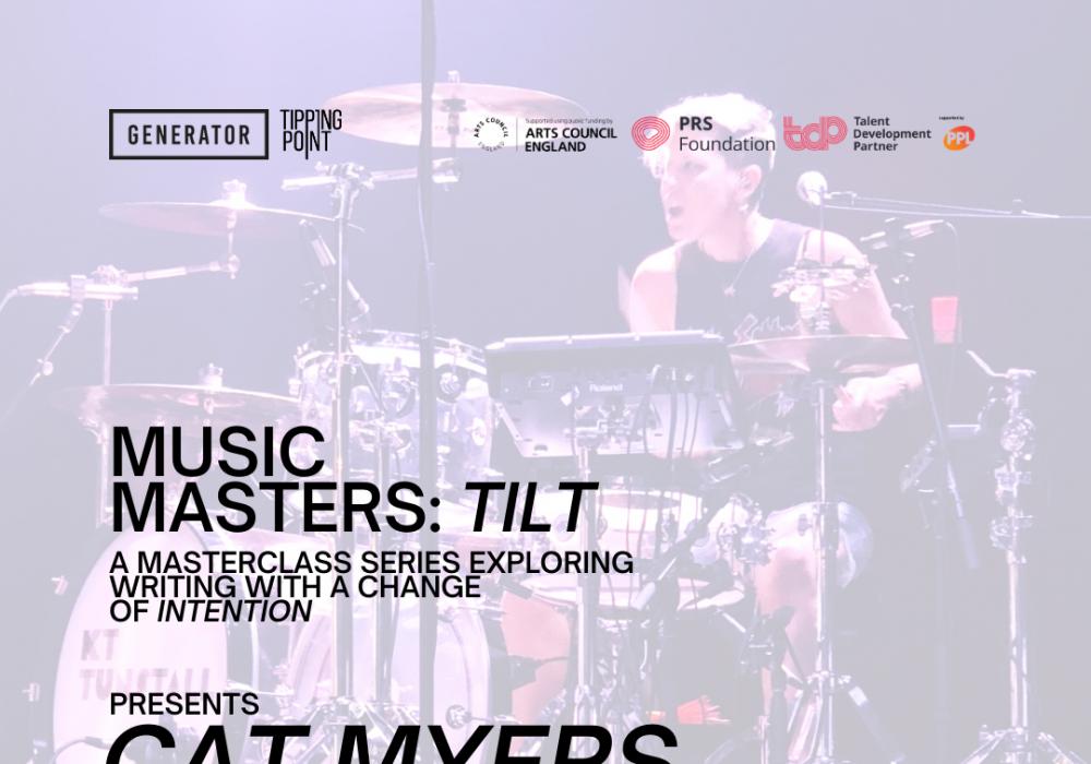 Music Masters: TILT presents Cat Myers